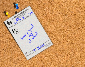 Dr. Mom's Prescription Pad