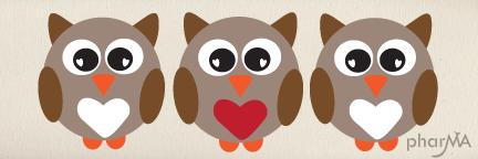 Free Cute Fall Owl Wallpaper