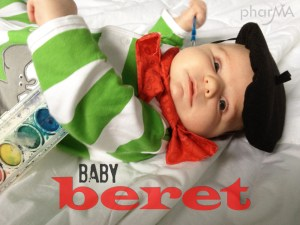 DIY Baby beret, French Baby