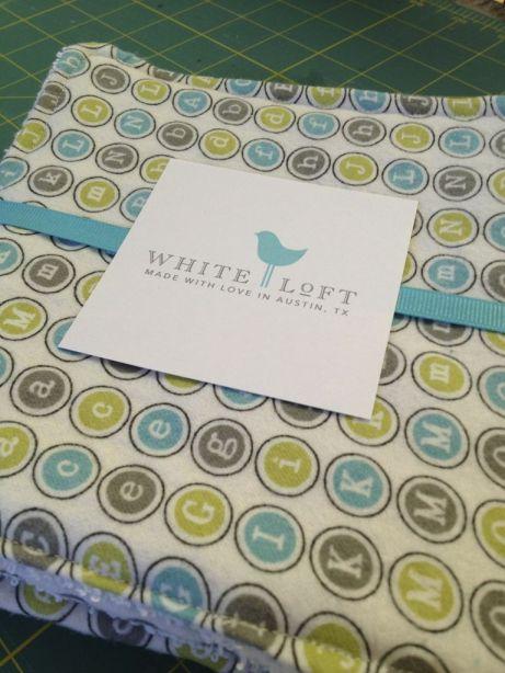 White Loft Custom Bedding