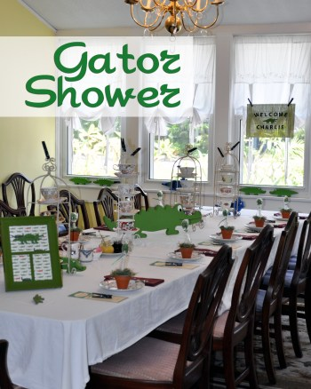 Gator Baby Shower