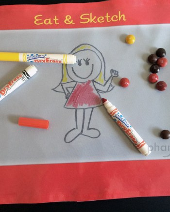 How to Make a Dry Erase Placemat