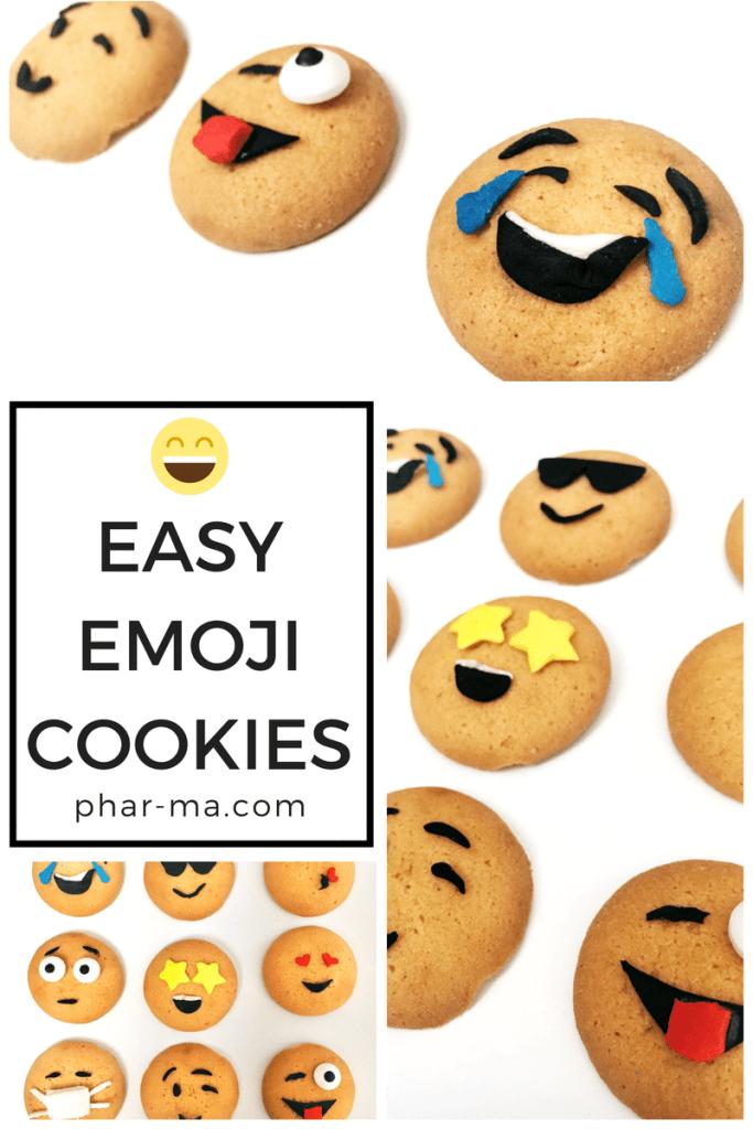 Emoji Cookies, Emoji Party Food