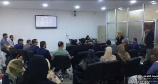 مركز الحاسبة في كلية الصيدلة يقيم ورشة عمل حول برنامج المودل (MODEL )