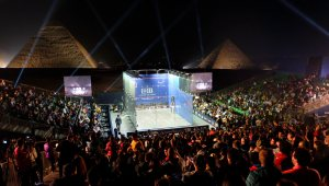CIB Egyptian Squash Open 2020 heads for the Pyramids
