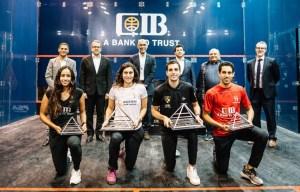 CIB Egyptian Latest: Ali and Nour Champs – Plus No1s!!!