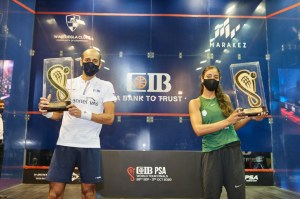CIB World Tour Finals – Hania and Marwan champions….