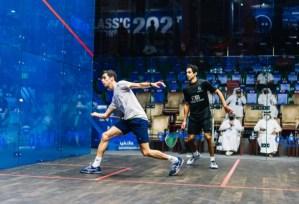 Semis – Fares 0-3 Coll, Ali 3-0 Tarek
