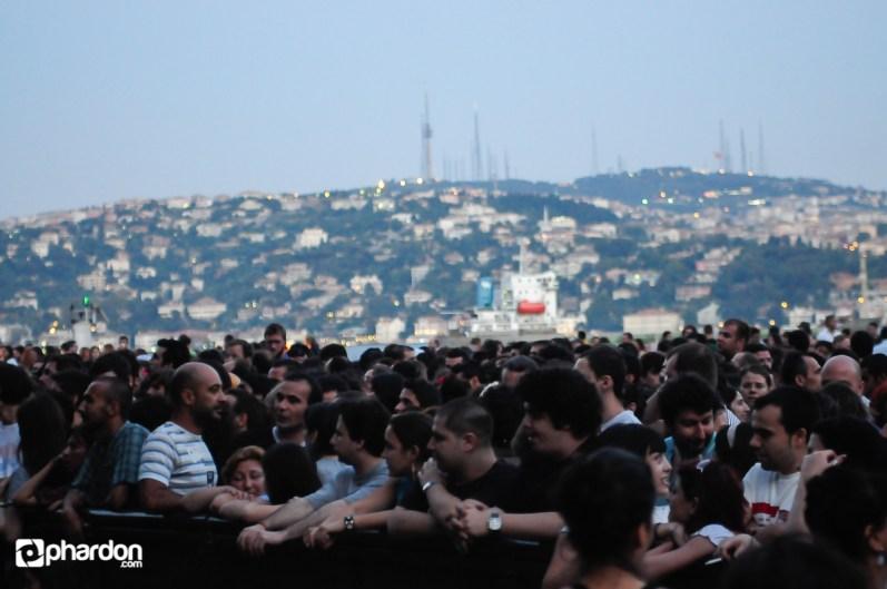 Bjork Concert Kurucesme Arena Event Photos