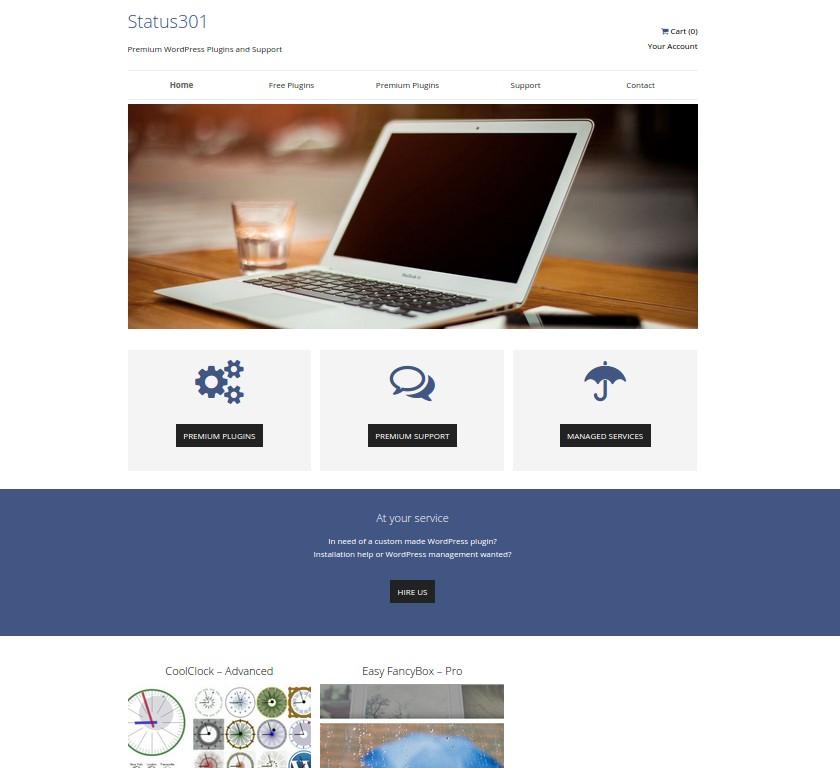 Status 301 - Premium WordPress Plugins