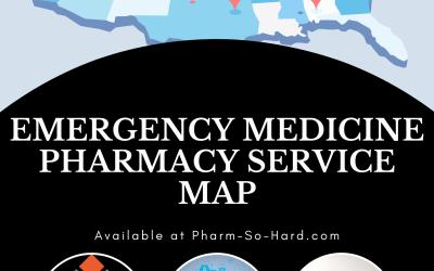 Emergency Medicine Clinical Pharmacy Map