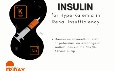 Episode 47. I Plead the Fifth! 5 vs 10 units of Insulin for Hyperkalemia