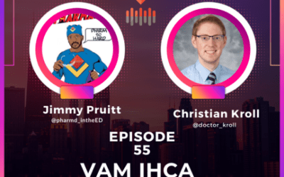 Episode 55. Vasopressin and the VAM-IHCA Study with Christian Kroll and Jimmy Pruitt