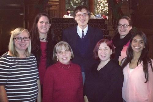 Nat Pernick and PO group photo