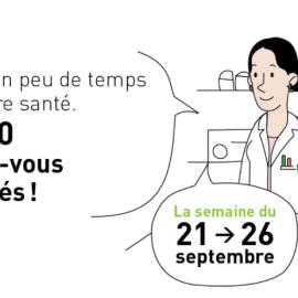 Nouveau service gratuit au sein des pharmacies : un check-up de la pharmacie familiale