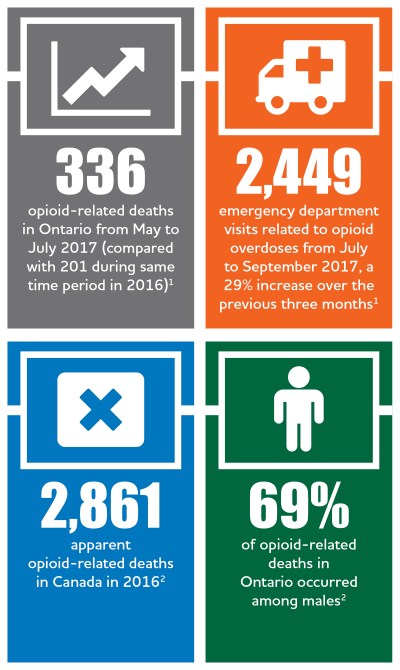 Opioid Strategy infographic