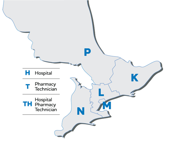 Ontario Districts Map