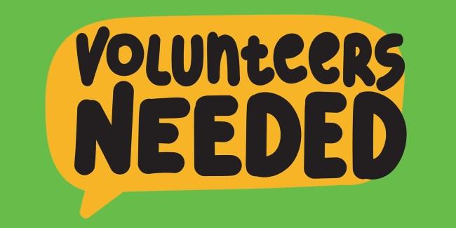 Volunteers Banner
