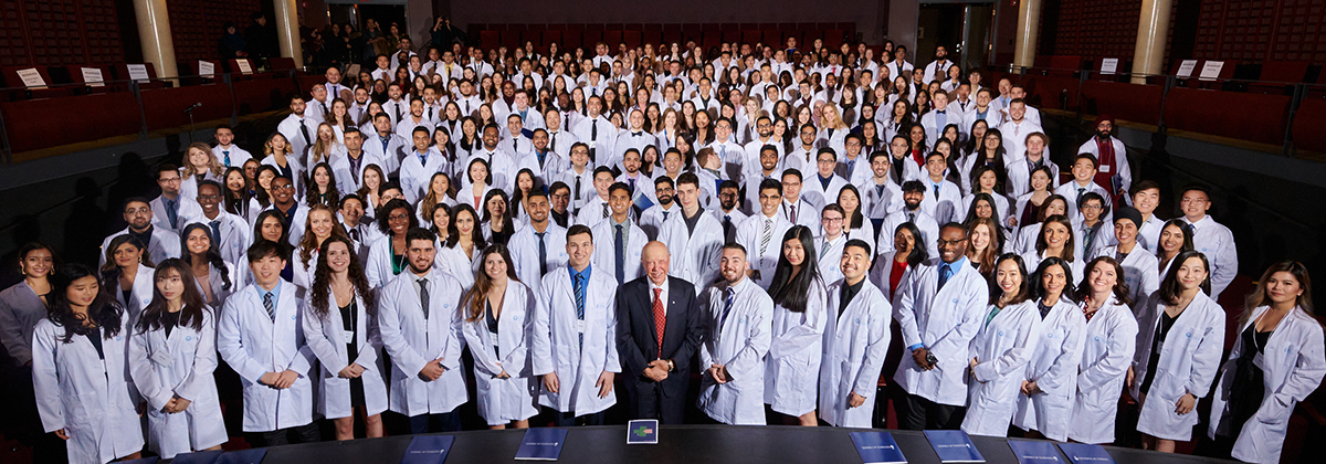 White Coats ceremony for U of T 2020