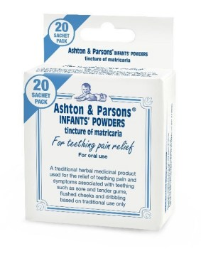 Ashton & Parsons Infant PDR Sachet 20`s