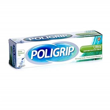Poligrip Ultra Denture Fix Cream 40g