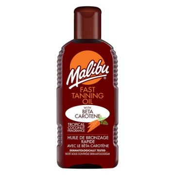 Malibu Fast Tan Oil +Corotenne 200ml