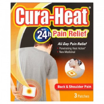 Cura-Heat Back And Shoulder 3`s