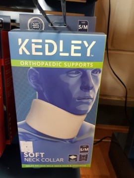 Kedley Orthropaedic Supports Soft Neck Collar -S/M- Moderate.