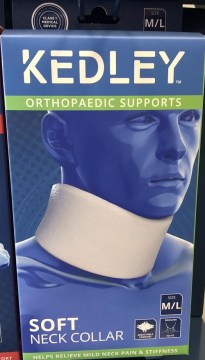Kedley Orthopaedic Supports Soft Neck Collar Size M/L