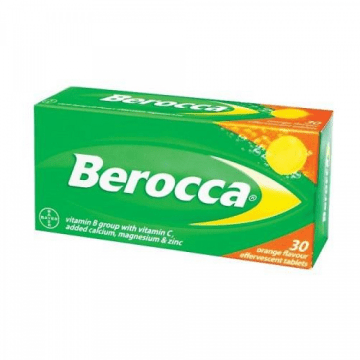 Berroca Effervescent Tablets 30`s