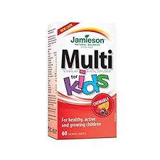 Jamieson Multi Kids Chewable Tablets 60`s