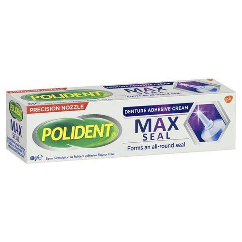 Polident Denture Adhensive Cream Max Seal 40g