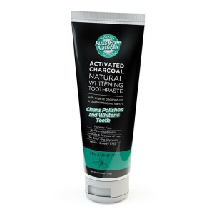 Essenzza Activated Charcoal Natural Whitening Toothpaste Spearmint 113g