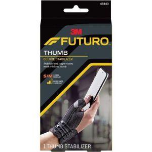 Futuro Deluxe Thumb Stabiliser Black Small – Medium