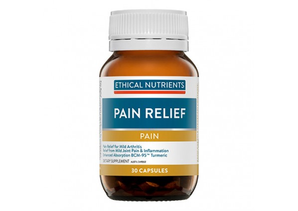 Ethical Nutrients Herbal Pain Relief 30 Capsules 3