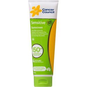 Cancer Council Sensitive Sunscreen SPF50+ Tube 110ml