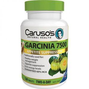 Carusos Garcinia 7500 120 Tablets