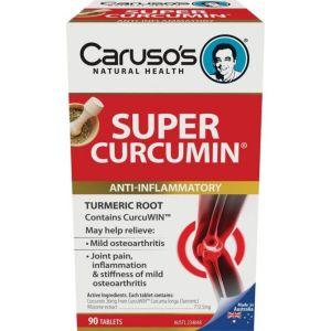 Carusos Super Curcumin 90 Tablets
