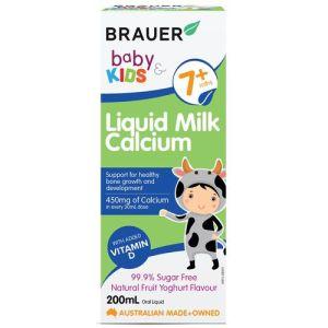 Brauer Baby & Kids Liquid Milk Calcium 200mL