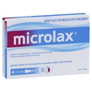 Microlax Enema 5mL x 4