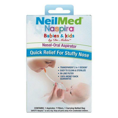 Neilmed Naspira Babies & Kids Nasal Oral Aspirator