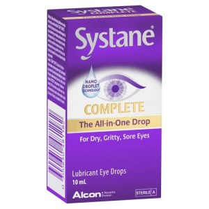 Alcon Systane Complete Lubricant Eye Drops 10ml