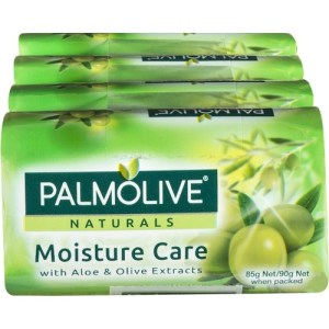 Palmolive Naturals Moisture Care with Aloe & Olive Extracts 85g (4pk)