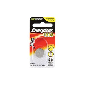Energizer 1616 3V Lithium Battery 1 Pack