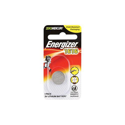 Energizer 1616 3V Lithium Battery 1 Pack 3