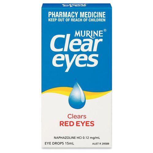 Murine Clear Eyes Eye Drops 15mL 3