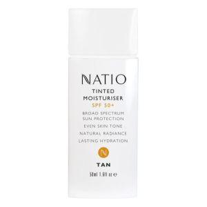 Natio Tinted Moisturiser SPF 50+ Tan