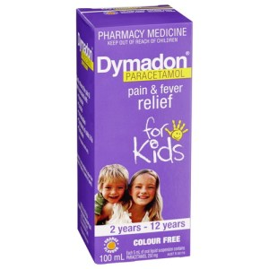 Dymadon Pain & Fever Relief for Kids 2 years – 12 years 100mL