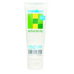 Hamilton Active Family Sunscreen SPF50+ Lotion 110g