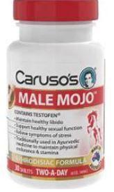 Carusos Male Mojo Tablets 30